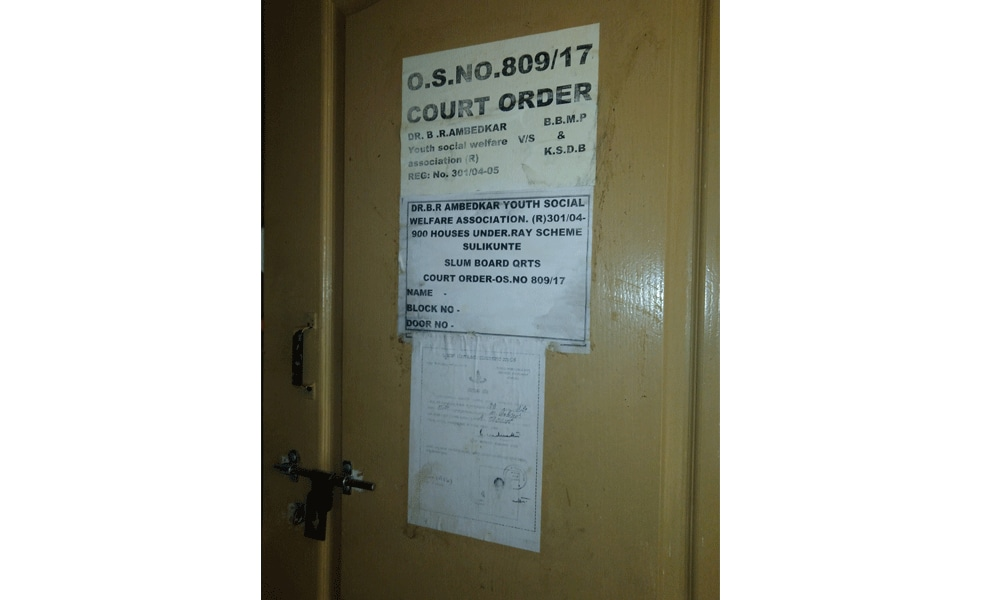 Court order and the BBMP identification